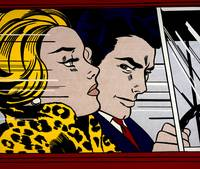 In the Car - Roy Lichtenstein - Signed