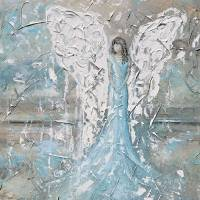 """""Always Nearby"" Angel Painting"" by ChristineKrainock"