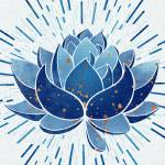 """Blue Lotus"" by moderntropical"