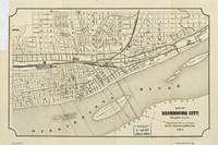 Map of Harrisburg, Pennsylvania (1884)