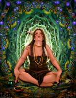Vision Quest Spirit Alchemy - Visionary Art