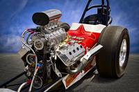 Vintage Top Fuel Dragster 'Blown Hemi'