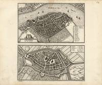 Map of Dordrecht and Brielle, Netherlands (1646)