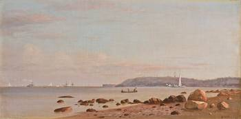Along The New England Coast by Francis Augustus Si