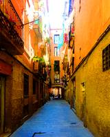 Barcelona Alley, #1