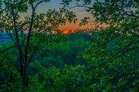Sunset at Highbanks Metropark, Columbus, Ohio