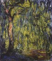 CLAUDE MONET - WEEPING WILLOW, 1918 2