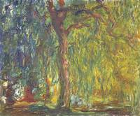 CLAUDE MONET - WEEPING WILLOW, 1918–-19
