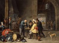 David Teniers the Younger, Guardroom with the Deli