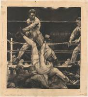 Dempsey through the Ropes, George Bellows