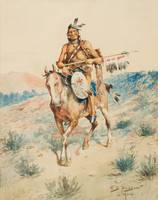 EDGAR S. PAXSON (1852-1919) Ruler of the Plains (1