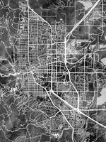 Boulder Colorado City Map