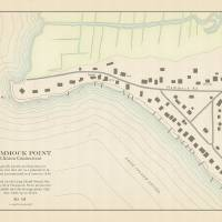 Hammock Point, Connecticut Map Art Prints & Posters by amproehl
