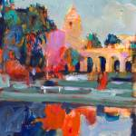 Balboa Park Del Prado Theater Reflections by RD Riccoboni
