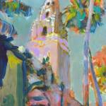 Balboa Park California Tower by RD Riccoboni