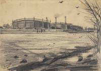 Gasworks The Hague, March 1882 Vincent van Gogh (1