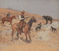 HIS LAST STAND BY FREDERIC REMINGTON