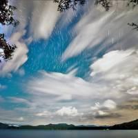 jocassee star trails2 by Alexandr Grichenko