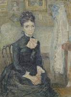 Portrait of Léonie Rose Charbuy-Davy Paris, March
