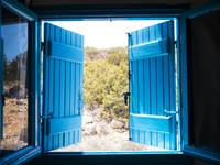 Through the Blue Shutters