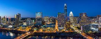 Austin Twilight Skyline Pano