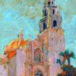Balboa Park Sunset on the California Building by RD Riccoboni