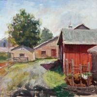 Connecticut Farm Art Prints & Posters by Linda Marino