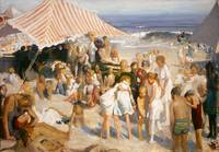 THE BEACH  by George Bellows