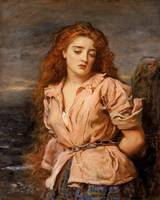 The Martyr of the Solway (c. 1871)  by John Everet