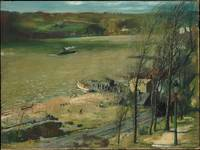 Up the Hudson , George Bellows