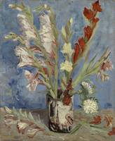 Vase with Gladioli and Chinese Asters Paris, Augus