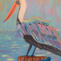 """Pete the Pelican"" by MelanieLutes"