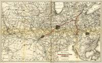 Toledo, Cincinnati, & St. Louis Railroad Map (1881