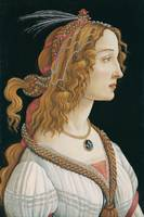 Botticelli , Portrait of a young woman, possibly S