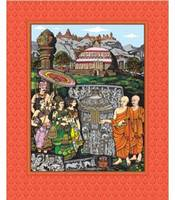 amaravati-maha-stupa-art-print-silk-framed-sale-on