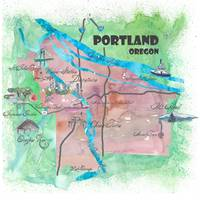 Portland_Oregon_Travel_Poster_Favorite_Map_Tourist