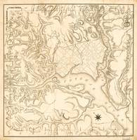 Territory of Columbia Map (Washington D.C. circa 1