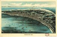 Aerial View of Provincetown, Massachusetts (1910)