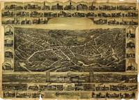 Aerial View of Southbridge, Massachusetts (1892)