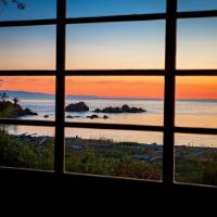 SunsetRosarioWindow5779 Art Prints & Posters by Pam Headridge