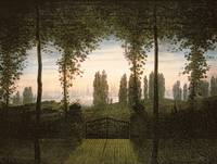 CASPAR DAVID FRIEDRICH (1774 -  1840), REMEMBRANCE