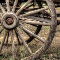 """171-Half Wagon Wheel"" by JimLeachPhotography"