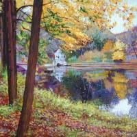 """1320 AUTUMN MIRROR LAKE fa"" by DavidLloydGlover"