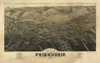 Bird's Eye View of Friendship, New York (1882)