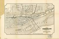Map of Harrisburg City, Pennsylvania (1895)
