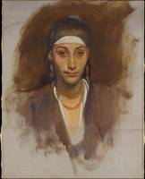 Egyptian Woman with Earrings, John Singer Sargent
