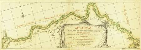 Map of the Amazon River (1788)
