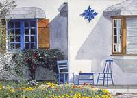 CARMEL COTTAGE WITH ORANGE