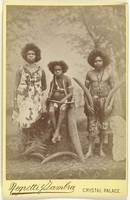 Aborigines in an exhibition at the Crystal Palace
