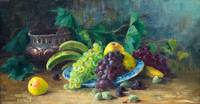 ADA THILEN, STILL LIFE WITH FRUITS